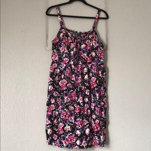 TORRID Black Floral Dress